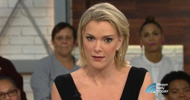 Megyn Kelly's embarrassed face about blackface